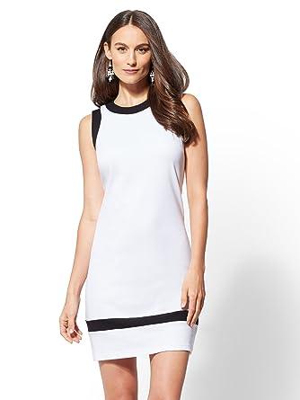 Colorblock Cotton Dresses