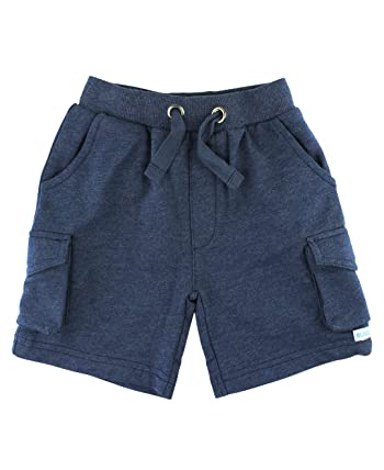 Infant/Toddler Boys Cotton Knit Cargo Shorts w/Adjustable Waist