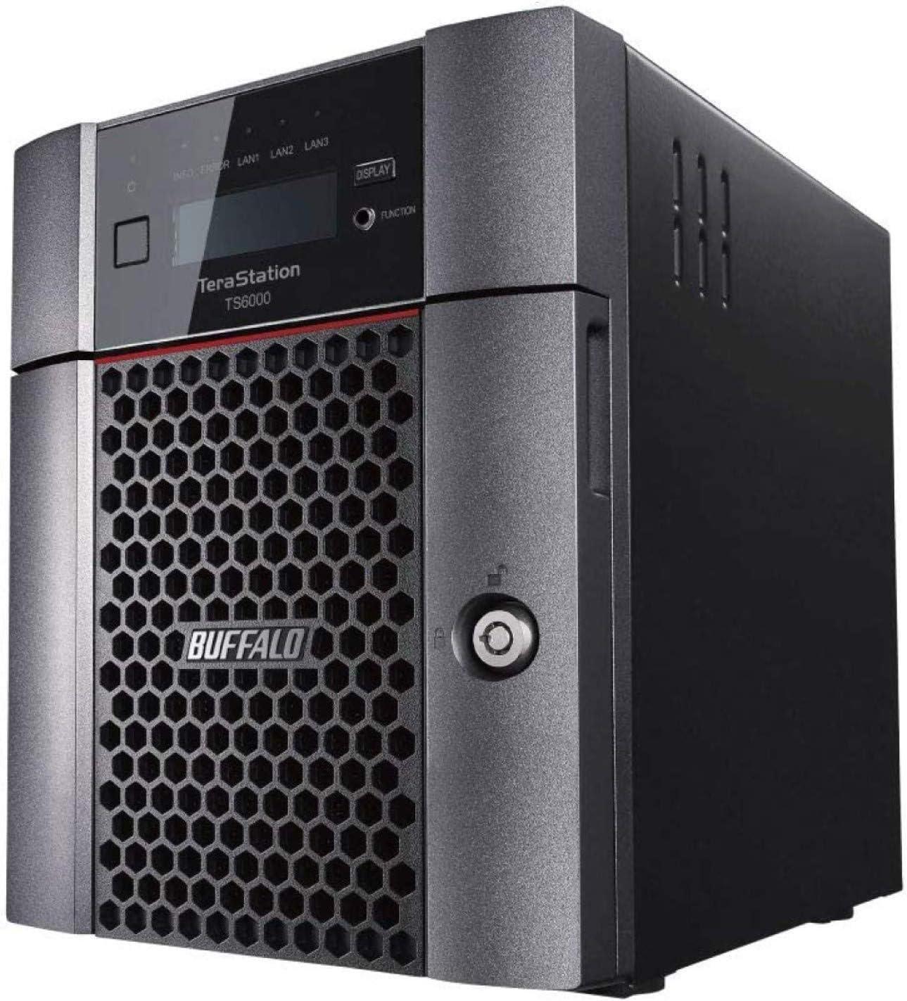 BUFFALO TeraStation 6400DN 32TB Desktop NAS Hard Drives Included + Snapshot