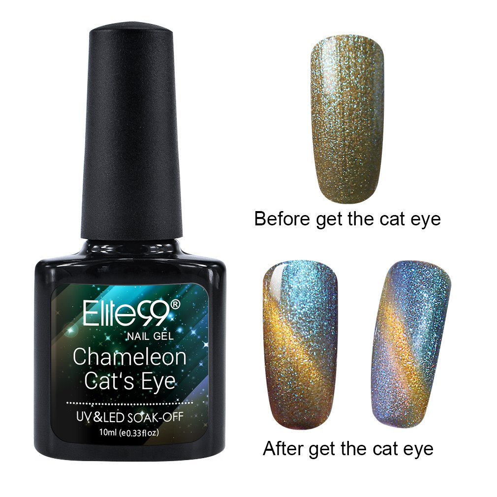 Amazon.com : Elite99 Cat Eye Chameleon Color Change Gel Star Style ...