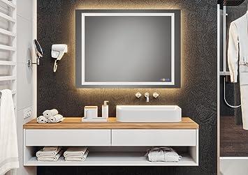 Badspiegel Badezimmer-Spiegel mit LOOX LED-Beleuchtung ...