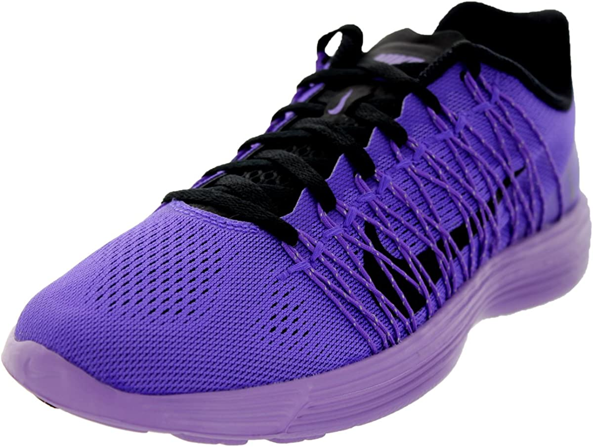 100% top quality classic fit available Nike Women's Lunaracer+ 3 Purple Venom/Blk/Urbn LLC/VLT Running ...
