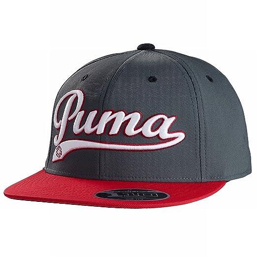 Amazon.com  Puma Men s Script Cool Cell Snapback Cap-Navy White Red ... 2f06a2ffd75
