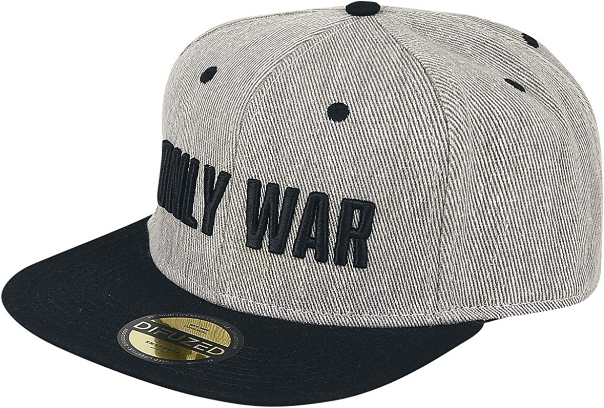 Warhammer 40k Baseball Cap Only War Catch Phrase Official Black Snapback