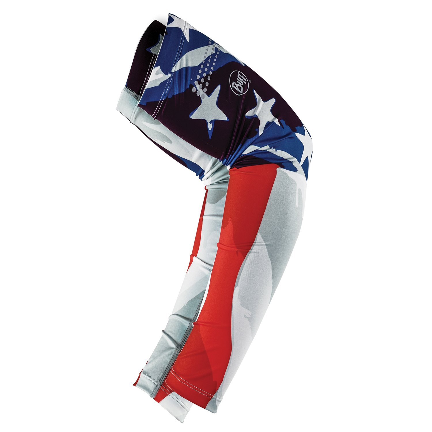 BUFF Unisex UV Arm Sleeves, America, M/L