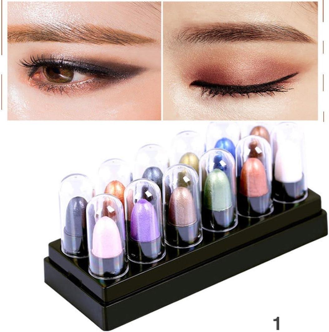 Rawdah Shimmer Glitter sombra de ojos en polvo Palette Matte Eyeshadow cosméticos Kit de maquillaje