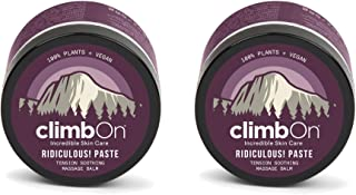 product image for climbOn Ridiculous! Paste - Essential Oil Topical Pain Relief Cream, Non-GMO Plant-Based Balm, 2 oz Jar 2 Pack