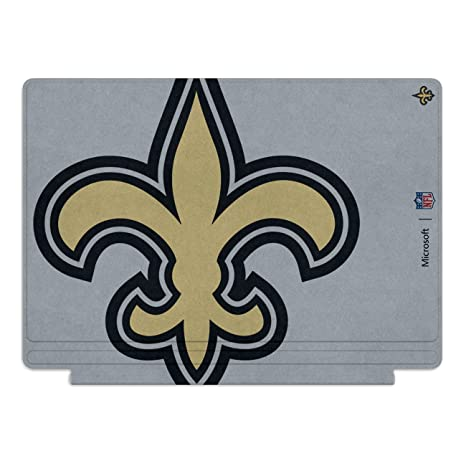 Microsoft Surface Pro 4 Special Edition NFL Type Cover (New Orleans Saints)