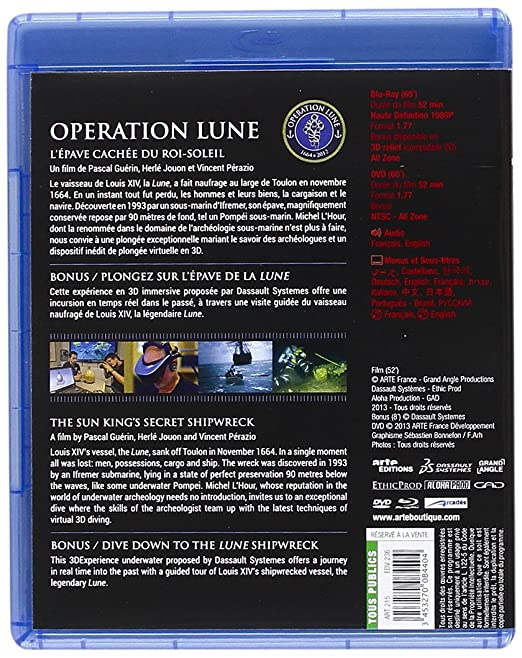 Amazon.Com: Operation Lune [Blu-Ray]: Movies & Tv