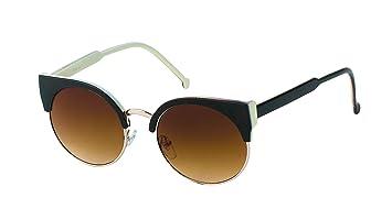 Sonnenbrille Damen rund John Lennon Vintage Cat Eye Style 400UV Retro vSCxzn