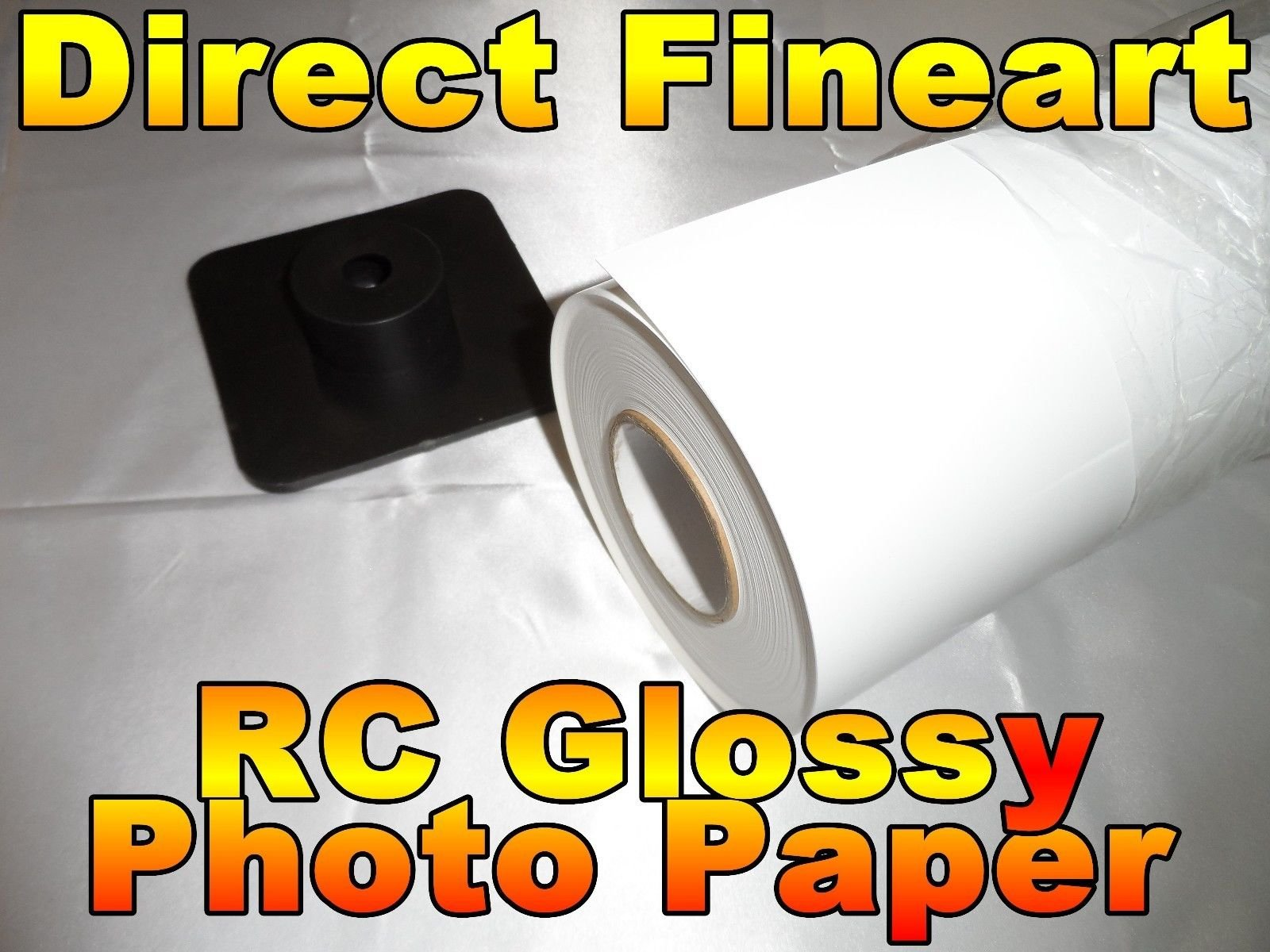 ColorStore - Premium RC Glossy Photo Paper Roll 24 inch x 100 ft Inkjet printing for canon hp epson