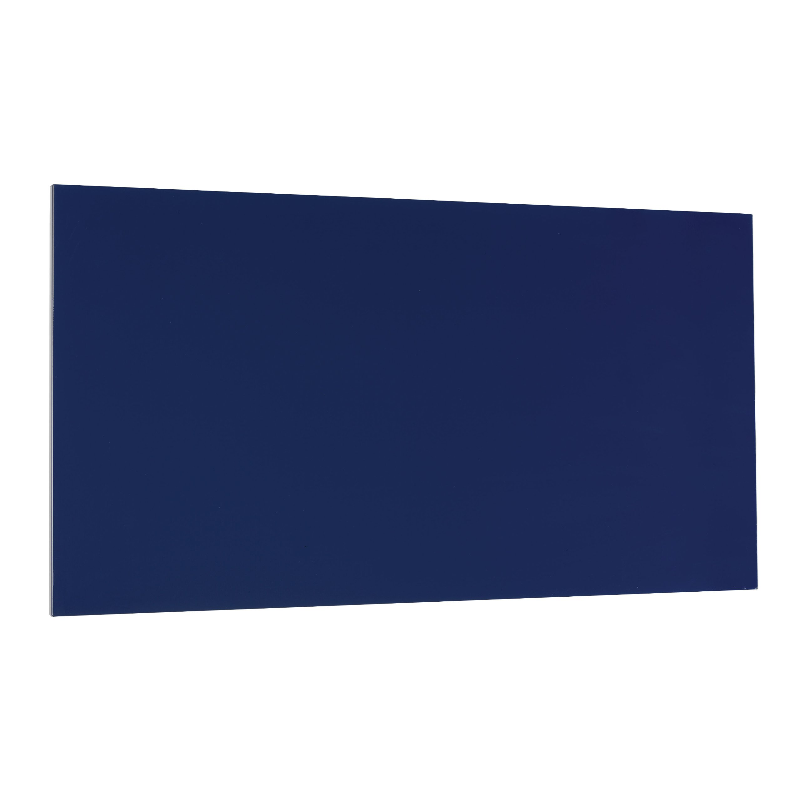 STEELMASTER Magnetic Board with Dry-Erase Pad, Pen and Magnets, 14 x 30 Inches, Blue (270163008) by MMF Industries