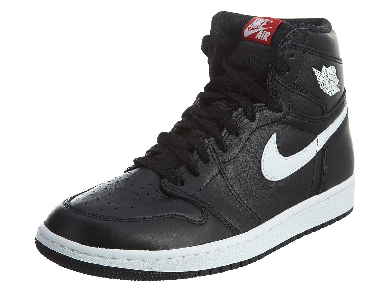Amazon.com  Jordan Nike Mens Air 1 Retro High OG Ying Yang Pack Basketball  Shoes (7.5) Black White  Jordan  Sports   Outdoors 35828a9d0