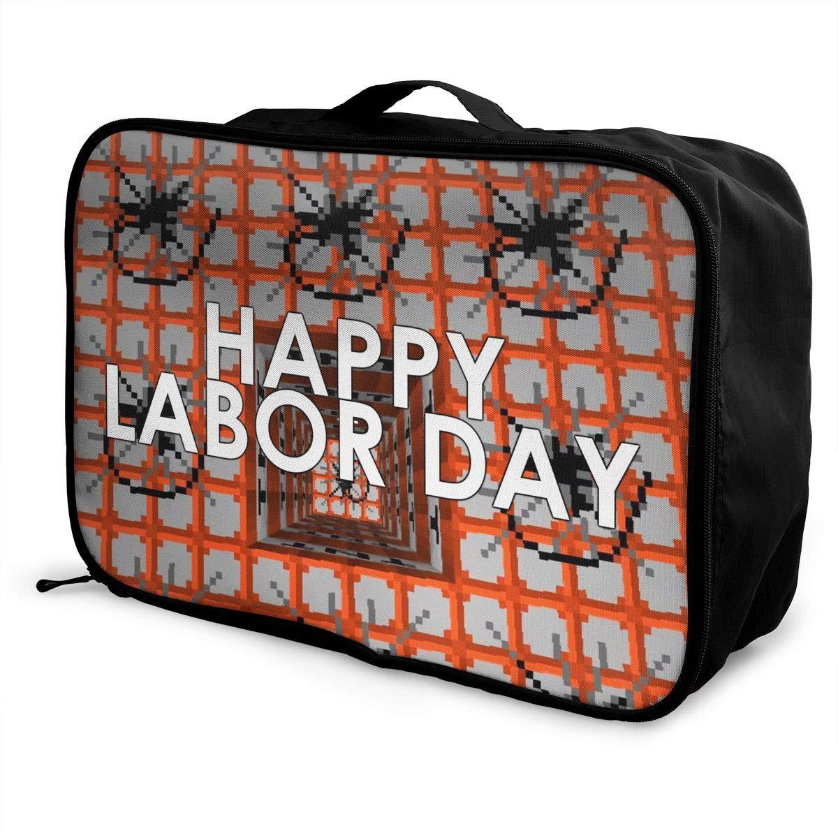 Travel Luggage Duffle Bag Lightweight Portable Handbag Labor Day Large Capacity Waterproof Foldable Storage Tote