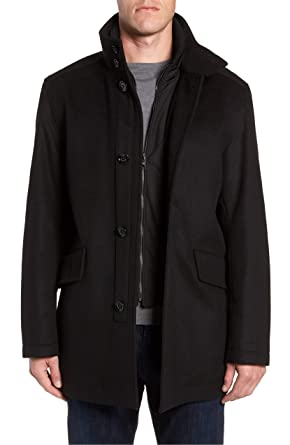 62196cecd Amazon.com: Hugo Boss Men's Regular Fit Coxtan 6 Wool-Cashmere Coat:  Clothing