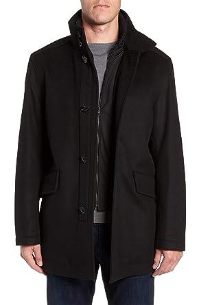 2d37435ff Amazon.com: Hugo Boss Men's Regular Fit Coxtan 6 Wool-Cashmere Coat ...