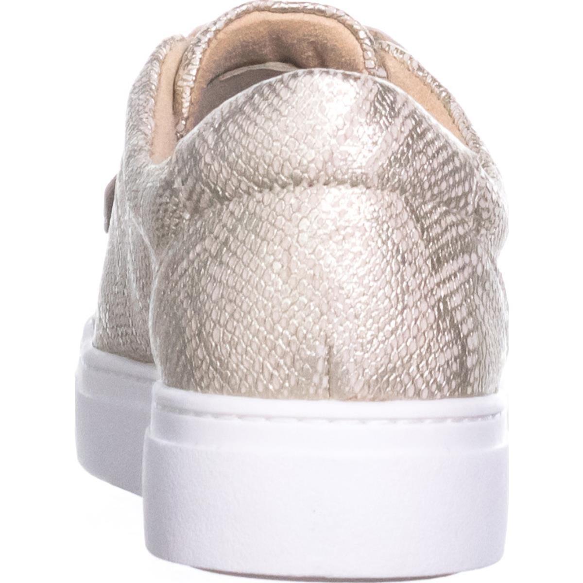 Naturalizer Women's Charlie Sneaker B0713S5FBZ Snake 9.5 B(M) US|Taupe Metallic Snake B0713S5FBZ c34583