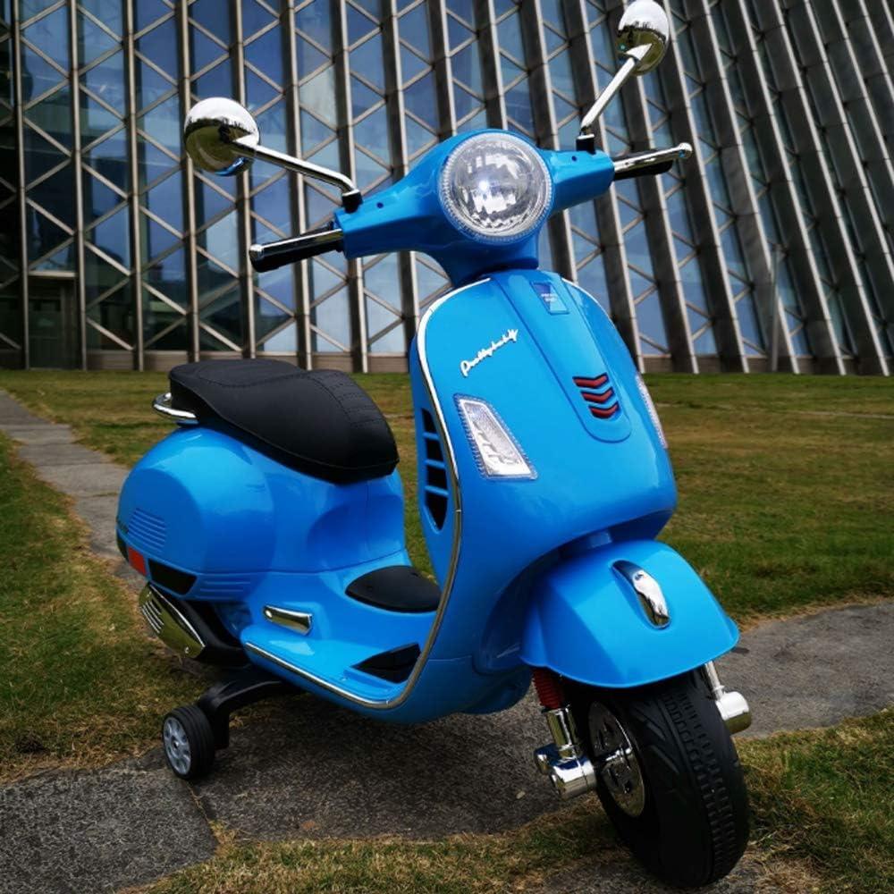 TOYYPAY Paseo de los Cabritos en la Motocicleta con el Balance de luz LED de la Motocicleta Puede Sentarse Ligera Lavable 3 Ruedas de la Motocicleta de Juguete for niños Niños y Niñas