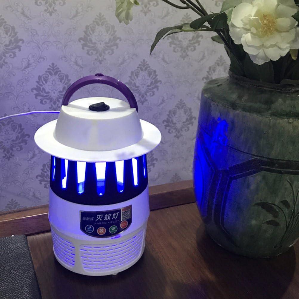 VORCOOL elettronico zanzara Killer lampada LED antizanzare repellente per insetti USB Fotocatalizzatore Fly Killer per camera da letto soggiorno