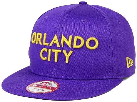 9db91ae8cf2 Amazon.com   New Era Orlando City SC 9Fifty MLS Purple Snapback Hat ...