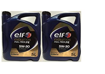Total - Aceite de motor Elf Evolution Full-Tech 5W30, 100% sintético,