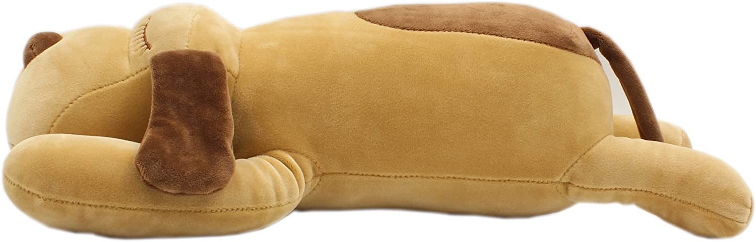 TAGLN Stuffed Animals Dogs Plush Toys Pillows (Brown, 12 Inch)