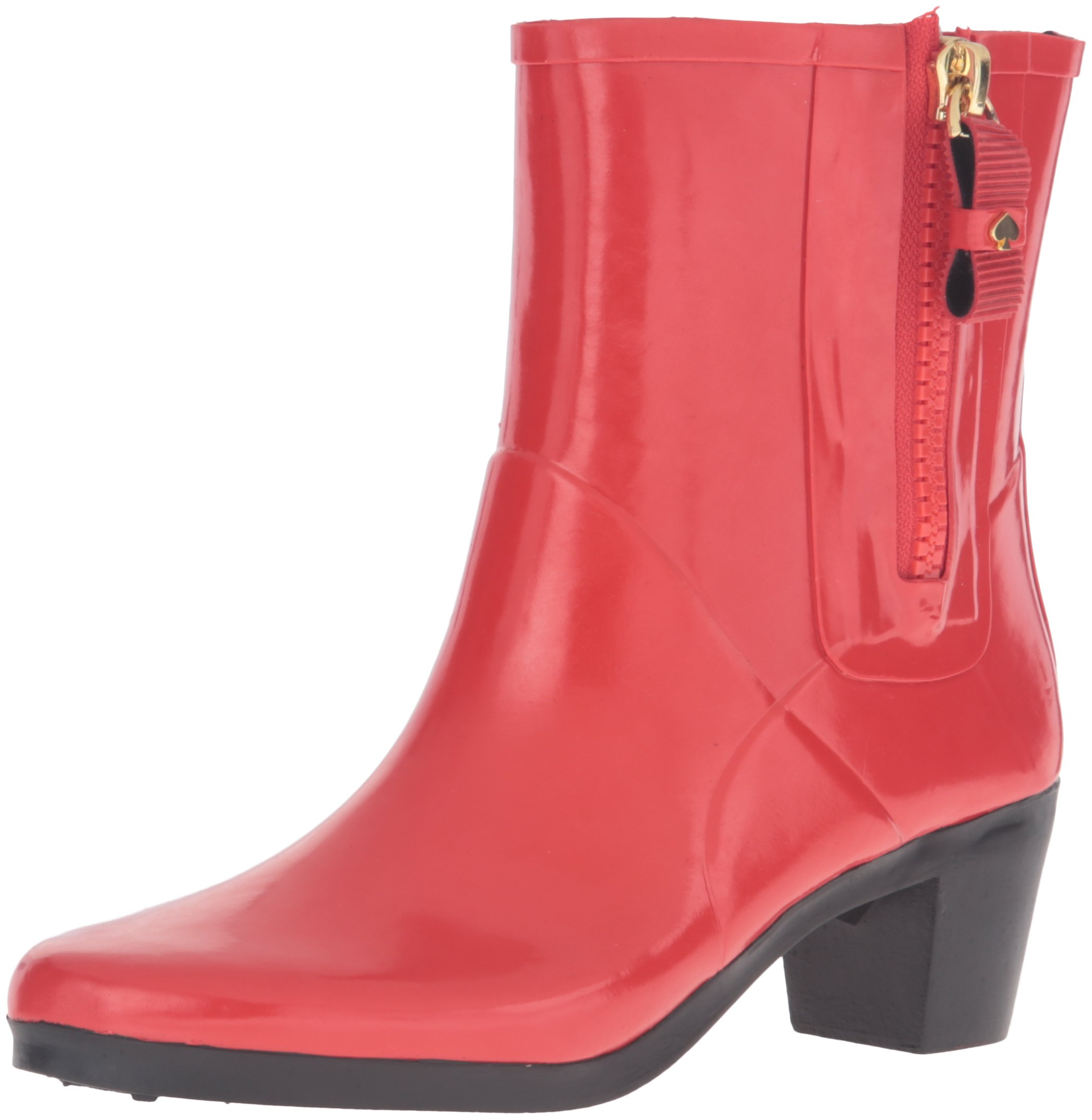 Kate Spade New York Women's Penny Rain Boot, Red, 5 M US