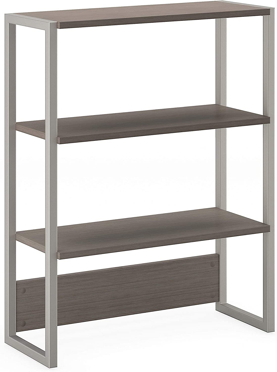 Bush Business Furniture Office by kathy ireland Method Bookcase Hutch, Cocoa