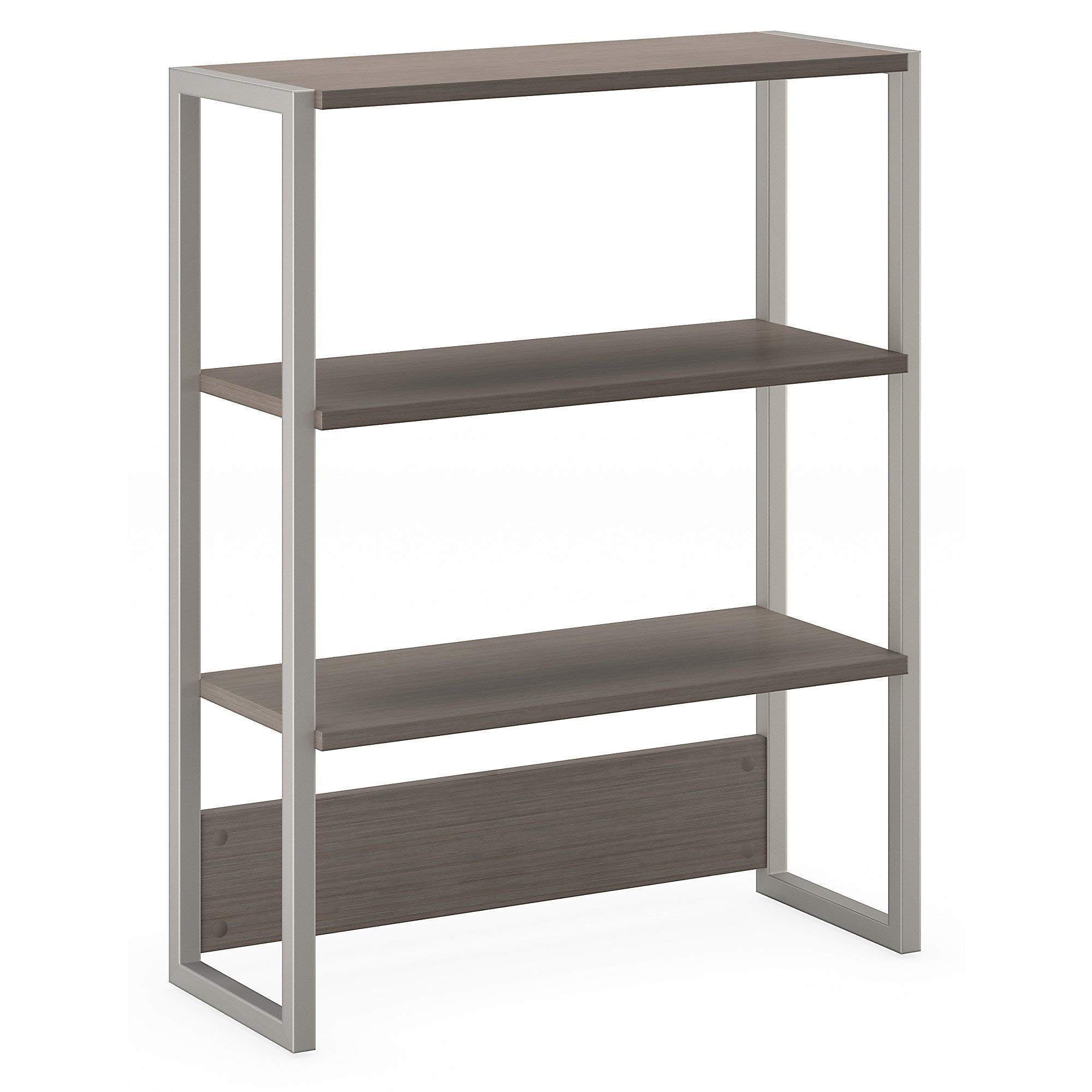 Office by kathy ireland Method Bookcase Hutch in Cocoa