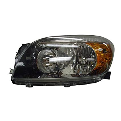 OE Replacement TOYOTA RAV4 Headlight Partslink Number TO2518107 Multiple Manufacturers TO2518107C