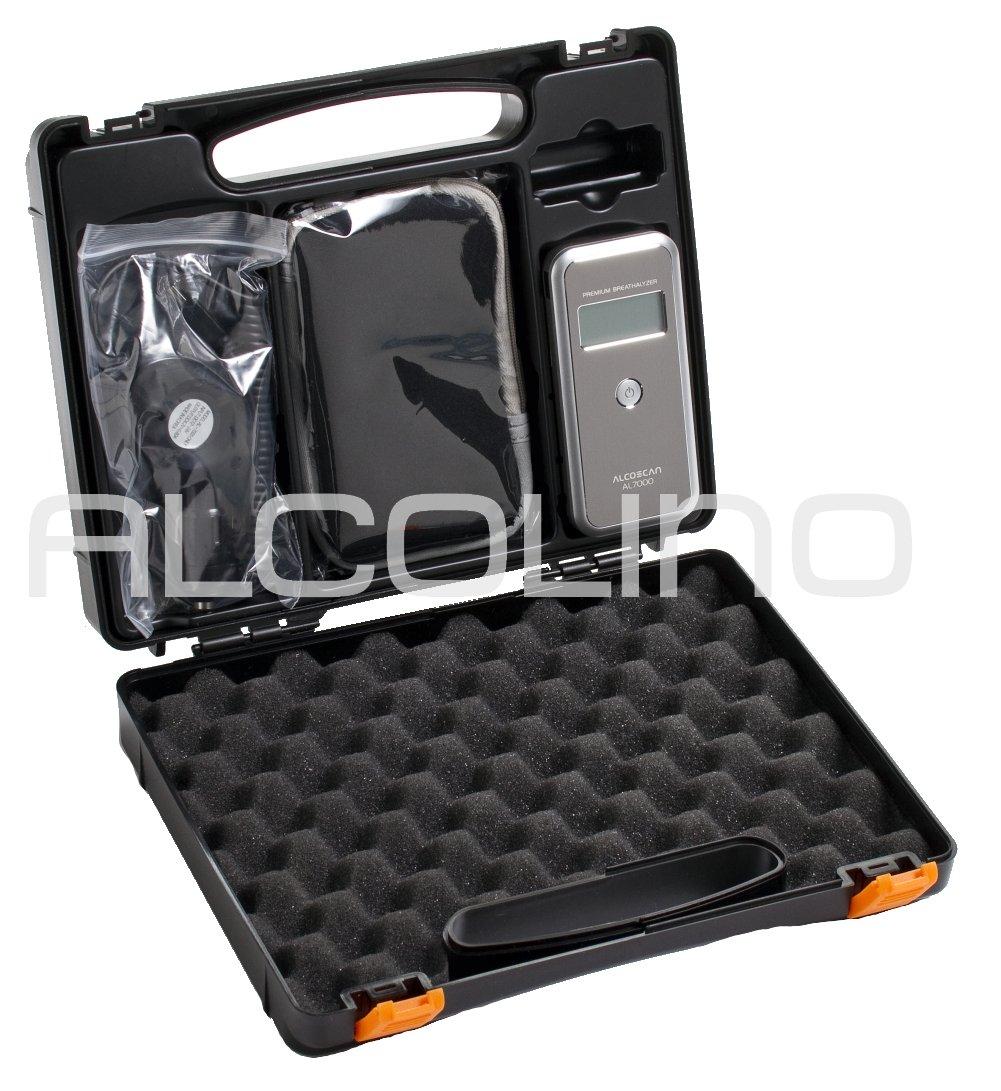 Alcolino AL7000 Deluxe É thylotest numé rique avec capteur remplaç able, dans sa version avec le plus d'accessoires dans sa version avec le plus d' accessoires SENTECH