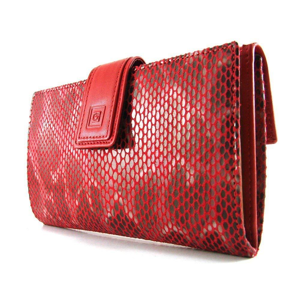 Cartera para mujer, hecho a mano en Españ a, marca casanova, hecha en piel de vacuno, Ref. 22718 Rojo hecho a mano en España