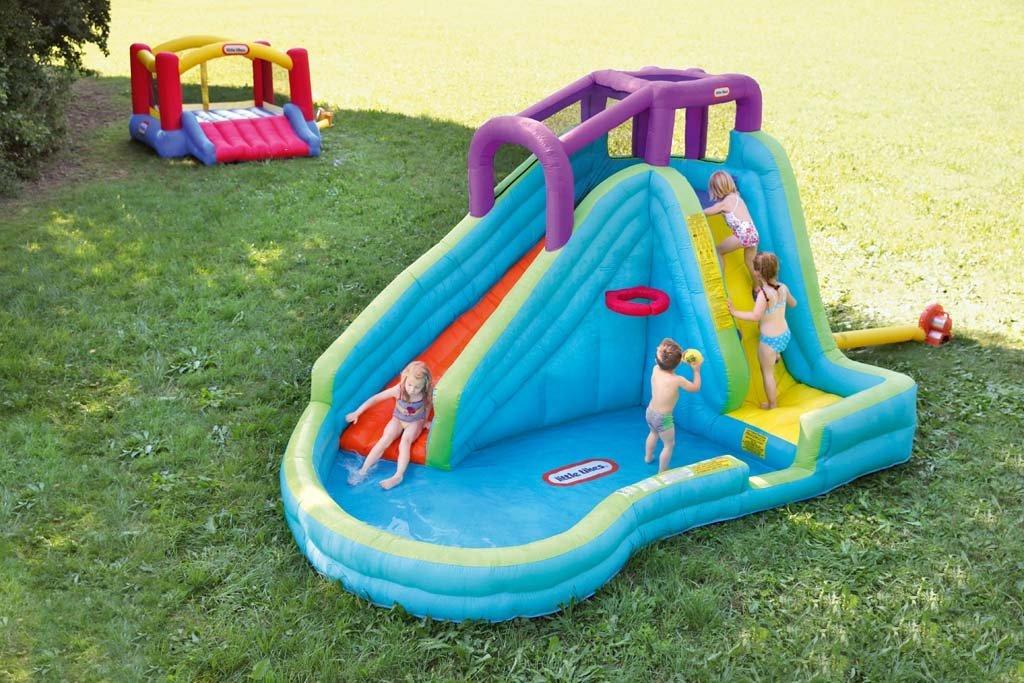 Little Tikes Slam 'n Curve Slide - 632914C < Lawn Water