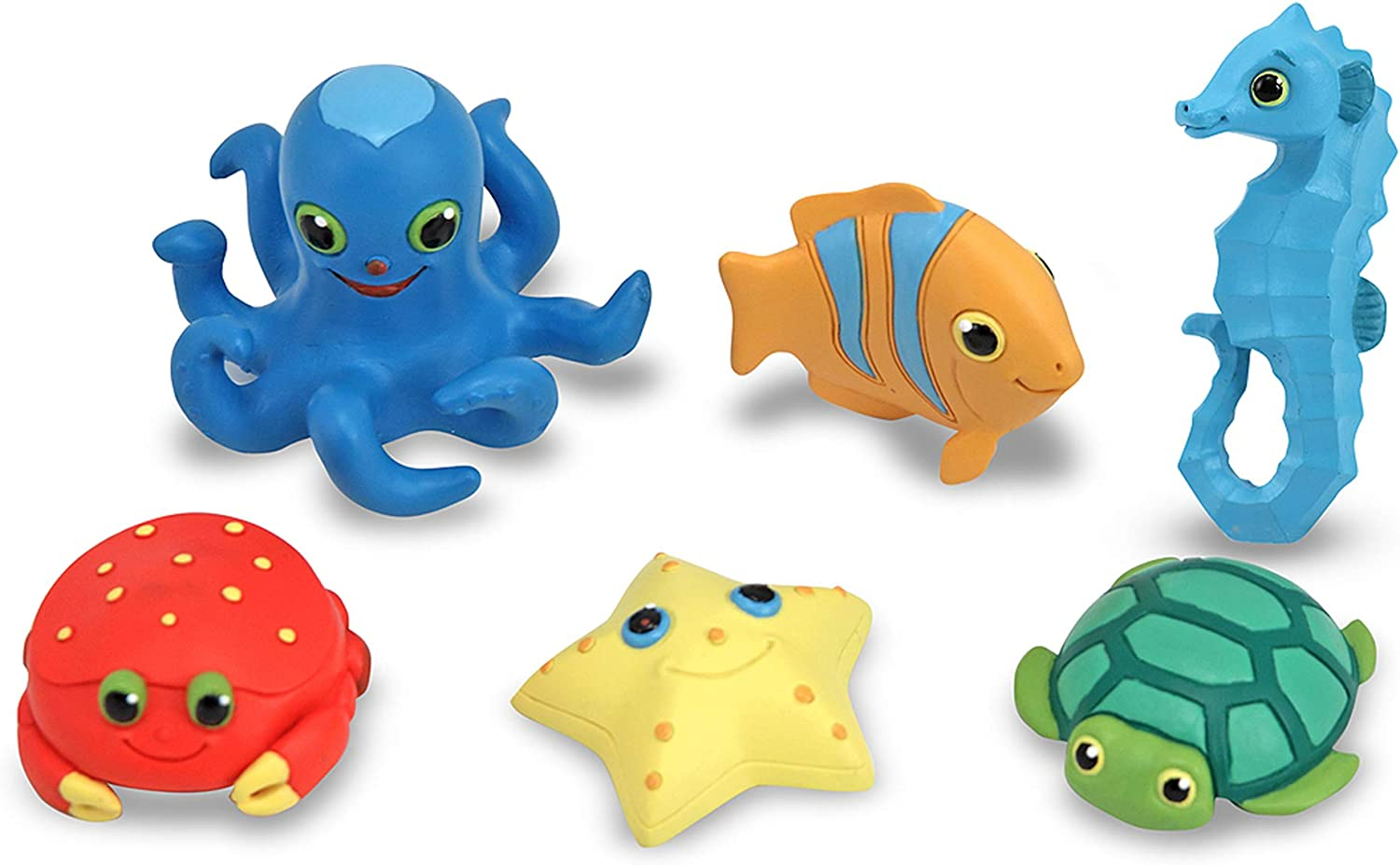 Melissa & Doug Seaside Sidekicks Sea Creatures Set: Melissa & Doug: Toys & Games