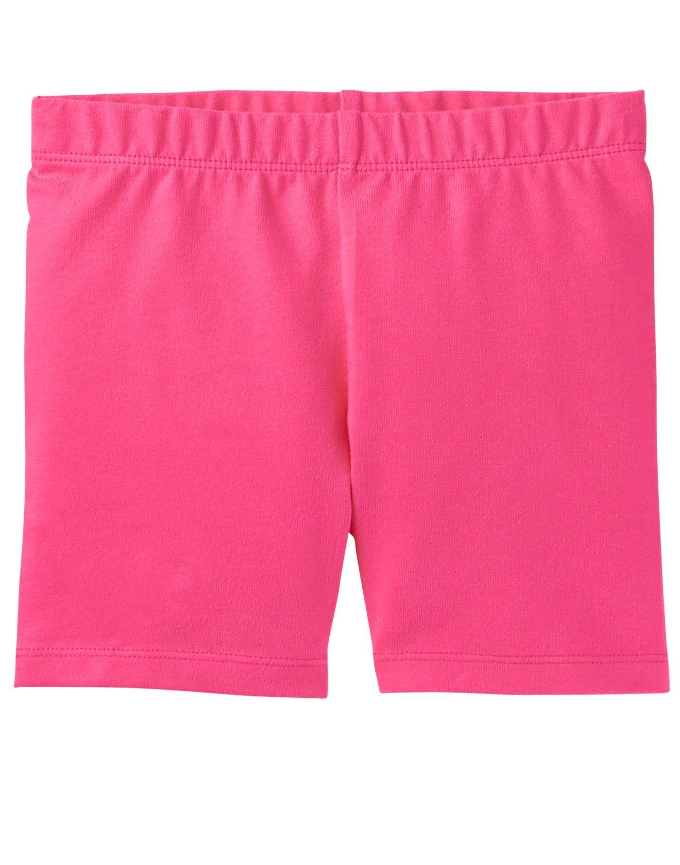 Gymboree Little Girls' Basic Knit Cartwheel Short, Pink, S