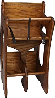 product image for Oak Three in One High Chair Rocking Horse Desk