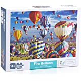 IEsafy hot air Balloon 1000 Piece Jigsaw Puzzle Children Adult - hot air Balloon - Game Toy Gift Large Jigsaw Puzzle Artwork for Adults and Teens