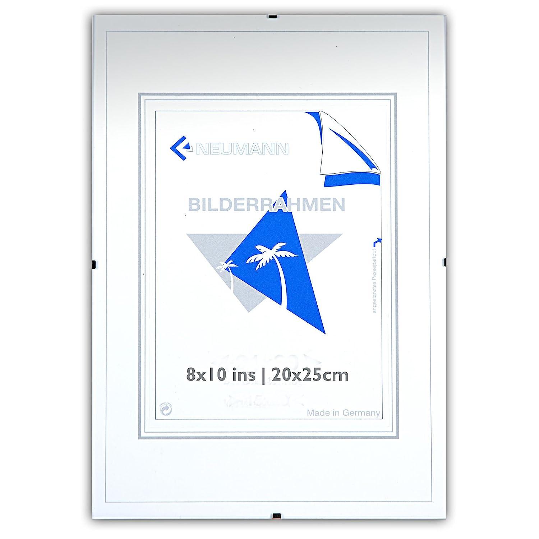 Amazon.com - Frameless frame clip 8x10 ins, 20x28 cm, acrylic glass ...