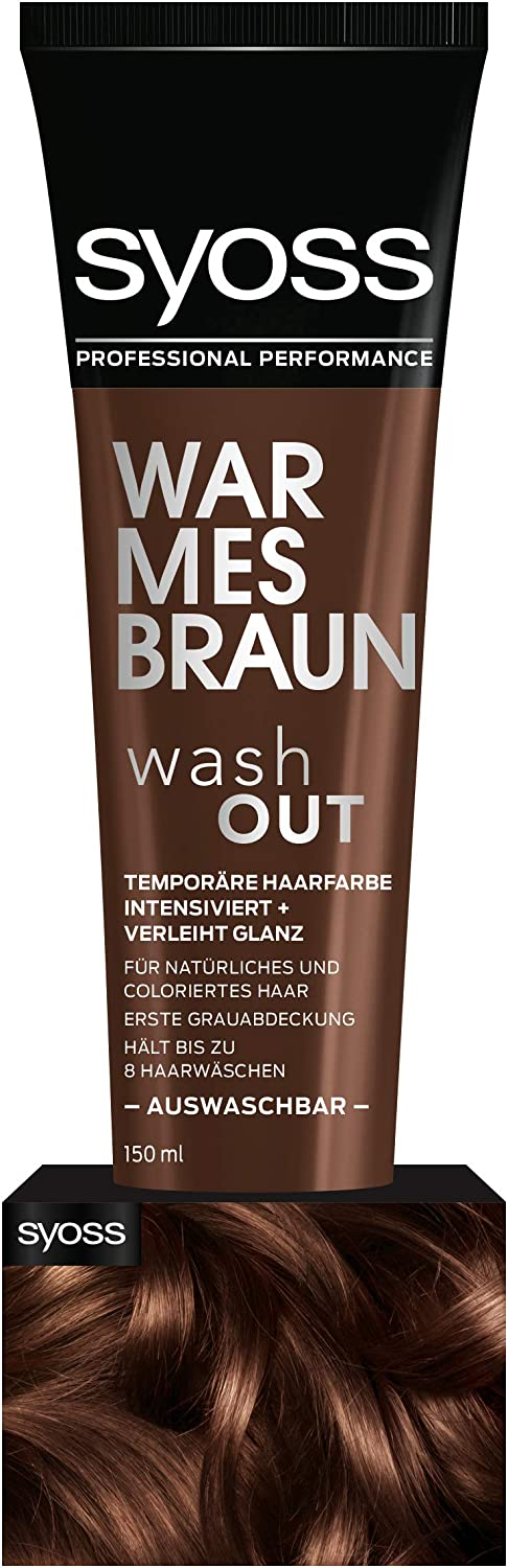 syoss wash out kühles blond erfahrung