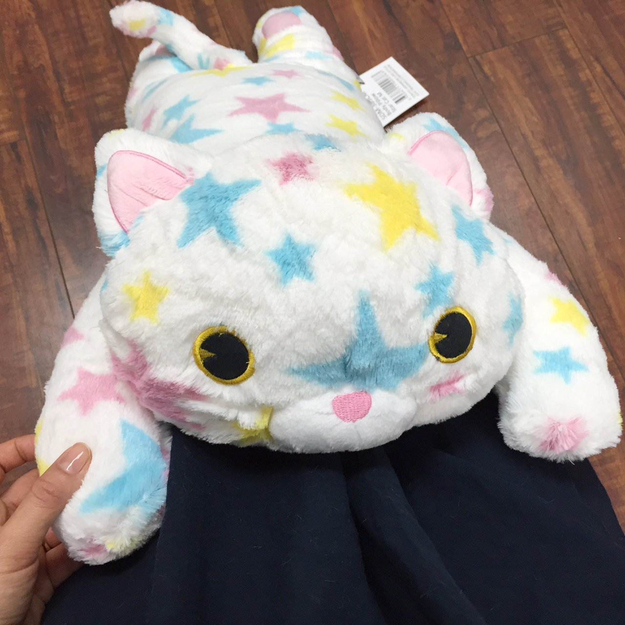 Tokyo Japanese Gift - Long Body Pillow - Animla Pillow - Hugging Pillow (Super Star Cat)