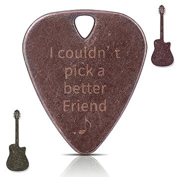 [buy 1 Get 2] Newest Púas para guitarra de cobre collar hecho a mano