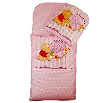 Saco + cojín para cochecito Moisés Cuna cochecito funda Saco de dormir Baby Saco (Winnie