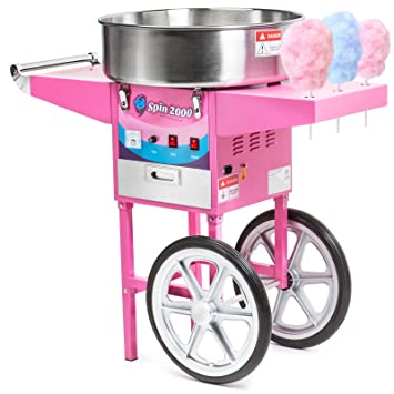 Amazon Olde Midway Commercial Quality Cotton Candy Machine Cart