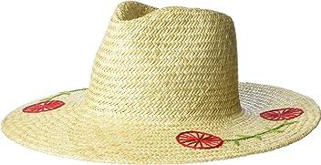 Brixton Womens Joanna Embroidered Hat Tan XS (6 ...