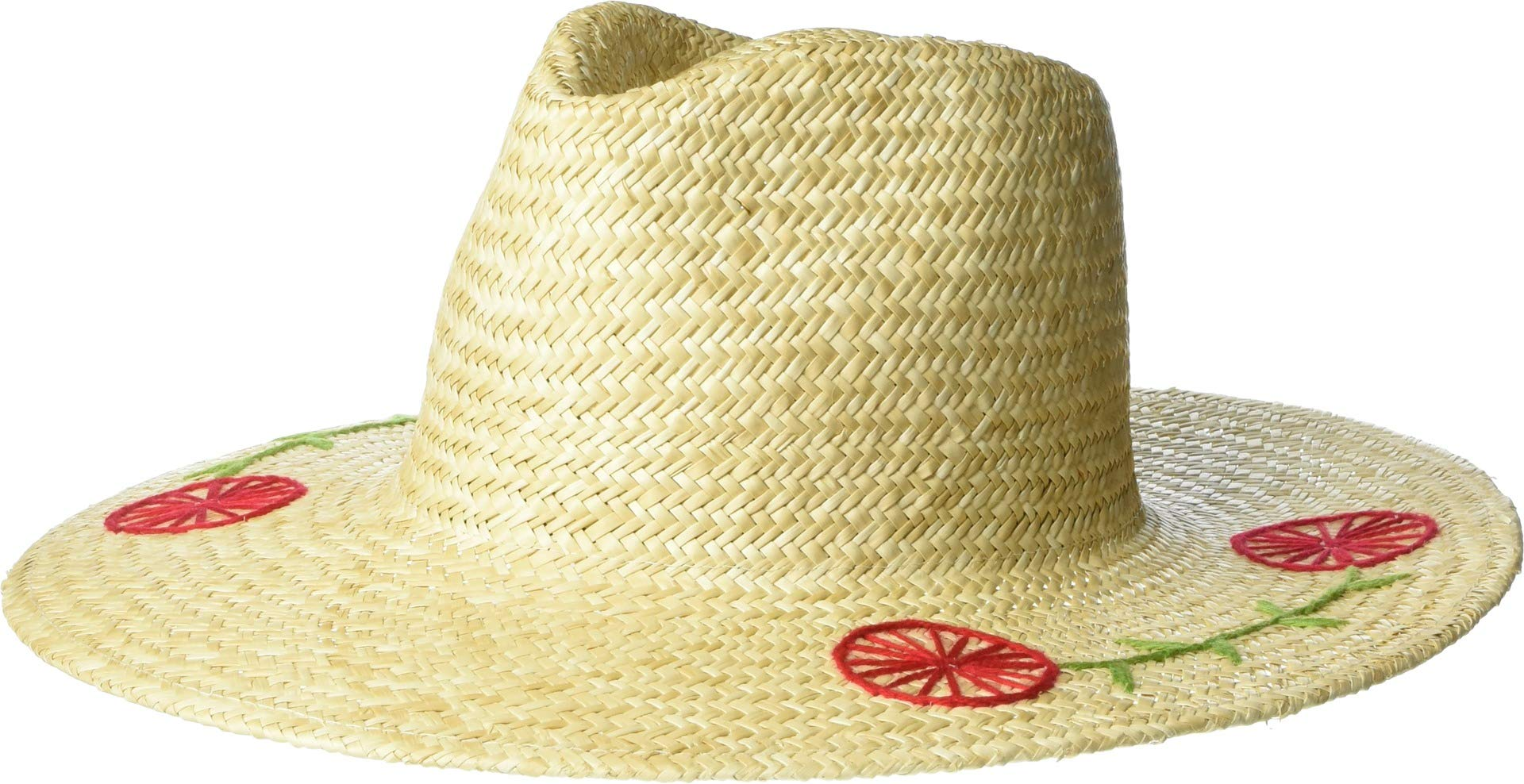 Brixton Women's Joanna Embroidered Hat Tan SM (7)