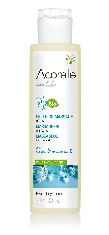 Acorelle Hygiène & Soin Bébé Huile de Massage Détente Bio 100 ml 9202