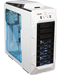 InWin GR One/White Sleek SECC ATX Full Tower Computer Case ATX 12V/EPS