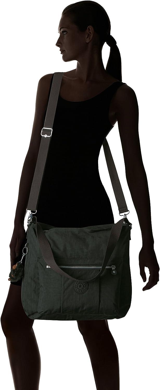 Kipling - Bolso bandolera para mujer Negro UedoNYUF