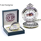 Fire Fighter Pocket Watch 262