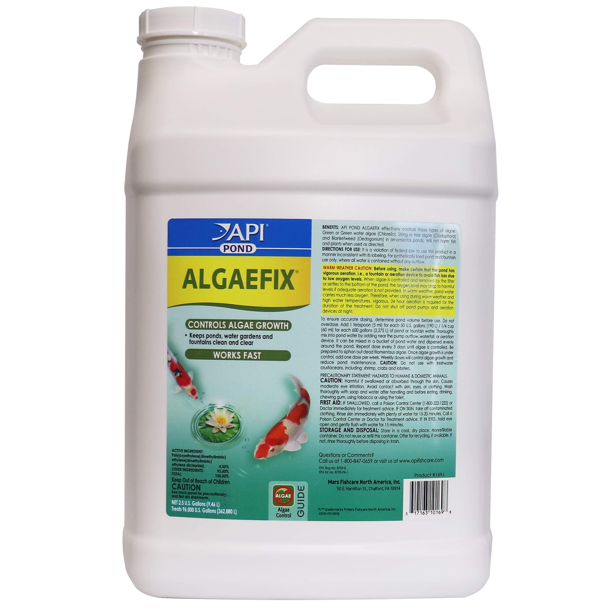 PondCare® AlgaeFix (2.5 Gallon) by Pondcare, MARS Pondcare